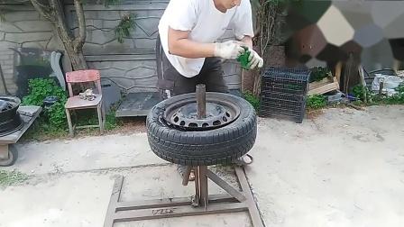 专业汽车维修工教你如何正确更换汽车轮胎,学到就是赚到