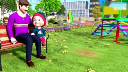 儿童益智动画,认识冰淇淋的类型与颜色儿童歌谣卡通动画