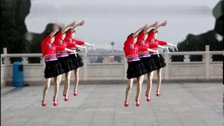 64拍健身广场舞《火火的爱》好听好看附分解-好看好学