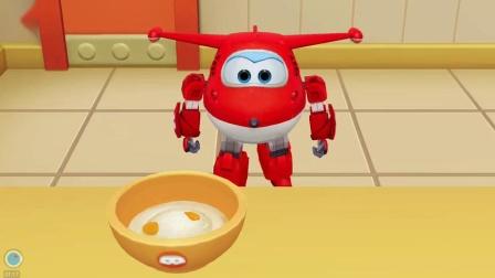 超级飞侠:乐迪的手工DIY甜品店,和孩子们一起制作美味的奶油蛋糕!
