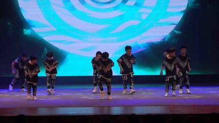 天津蓟州区 春节联欢会 蓟州神韵《激情节拍》卡恩街舞培训学校  编号124