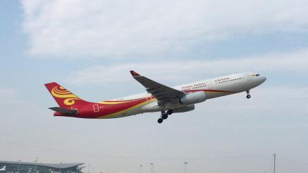 HU7260(杭州-三亚)   海南航空A333(B-304L)在萧山机场07跑道起飞   2019.02.02  13:10拍摄