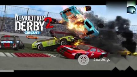 小汽车游戏之改装车泥地赛道比赛