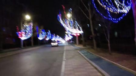 黄寺大院的节日彩灯