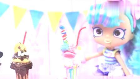DIY,给芭比娃娃做3款迷你杯子冰淇淋