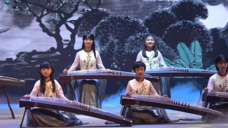 天津蓟州区 春节联欢会  古筝合奏《经典曲目联奏》演奏 天籁之音艺术培训学校  编号129