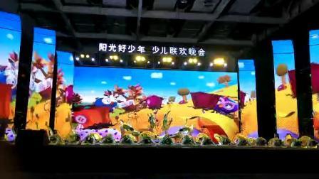 龙山县金孔雀文化艺术培训学校 舞蹈大三班表演的节目《早期闹春》