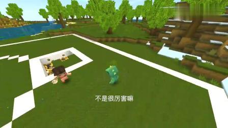 迷你世界:妮妮你诬陷我,不是我干的,明明是你自己把家炸坏的