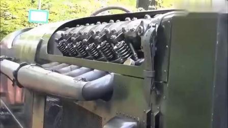 750马力的宝马飞机发动机试验车,这排气管温度可以来烤肉
