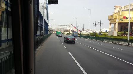 港珠澳大橋接駁巴士 娛樂巴士A MY-17-12 外港客運碼頭往大橋澳門口岸
