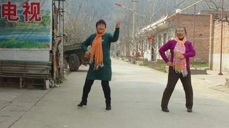 杨凌下阳村广场舞让我为你唱一首歌