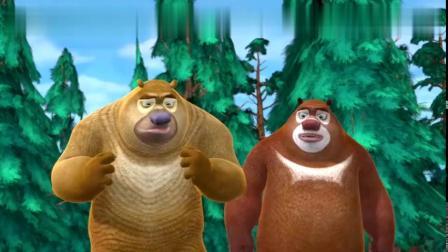 熊出没-光头强抢熊二蜂蜜,抱着罐子不放,强哥也爱吃蜂蜜