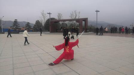 陈式太极剑49式(欢度春节)