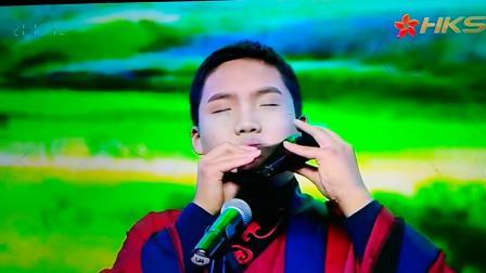 牧民新歌 陳冠羽陶笛獨奏在三家電視臺春晚特別節目中播出