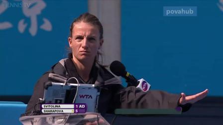 玛利亚 莎拉波娃 100大正手击球