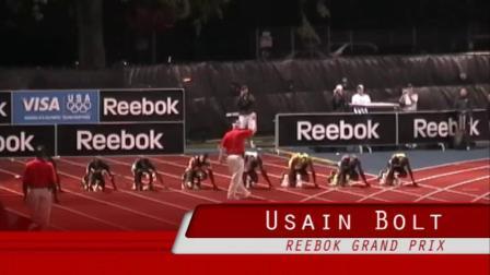 【现场版】博尔特9.72秒 首次打破100米世界记录