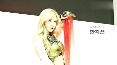 韩国美女模特,女王打扮的小姐姐气场十足,简