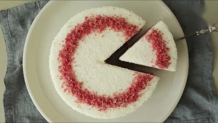 超级治愈食品课程:椰子红丝绒蛋糕椰子丝绒蛋糕