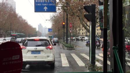 奶咖拍摄 - K155 杭州公交 红色电显青年电车6-5852 和睦新村→城站火车站