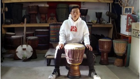 非洲鼓独奏表演教学视频第一套Djembe kan第1课