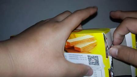 (DX魔影吃货)丽芝士纳宝帝奶酪味威化饼干