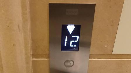 维也纳酒店电梯下行