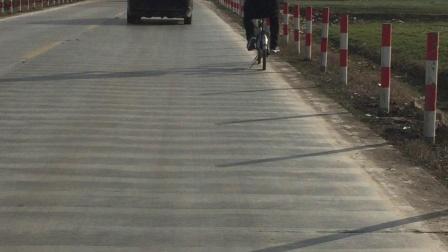春节骑行沂河淌
