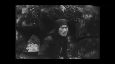 中国现存最早武侠片1925年《劫后缘》,当时武打动作好酷炫