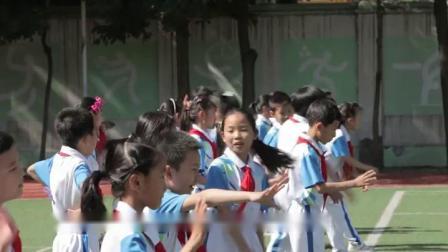 《折返跑》滬少版四年級體育,劉靜芝
