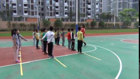 《站立式起跑》武漢市二年級體育下冊,劉珊