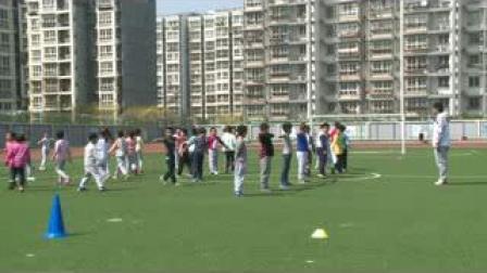 《自然站立向不同方向跑》北京版體育三年級,曲永平