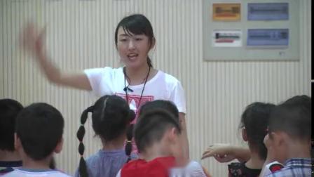 《自然站立式起跑》二年級體育,孫巖