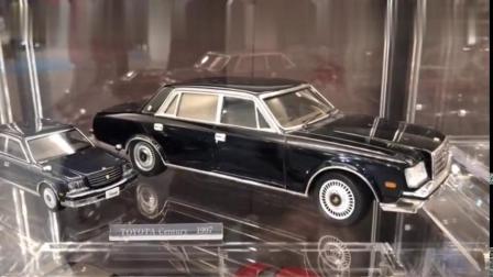 丰田汽车展示中心展示有超过200架车模