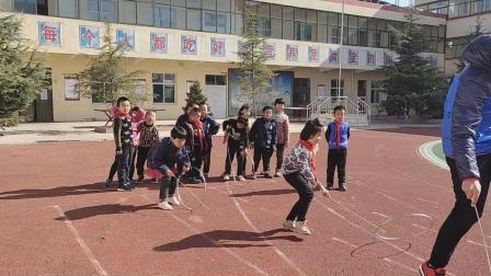 太德中心小学学生体育课活动