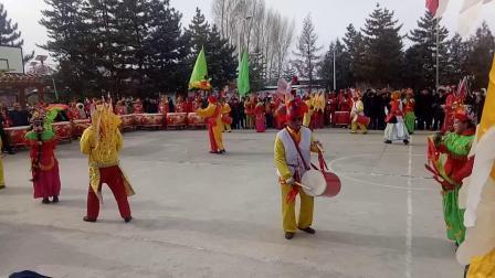 张掖市甘州区花寨乡西阳村2019年春节社火