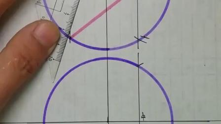 圆的五等分 圆内五角星 圆内正五边形画法 喜欢的朋友关注点赞 下个主播就是你