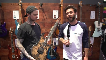 NAMM 2019 | New MusicMan Jason Richardson Signature | Thomann
