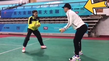 乒乓球反应启动训练