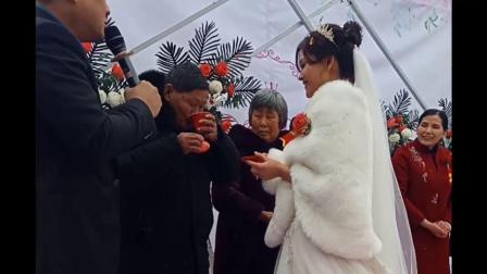祝老弟新婚快乐、幸福永远!(ニ)