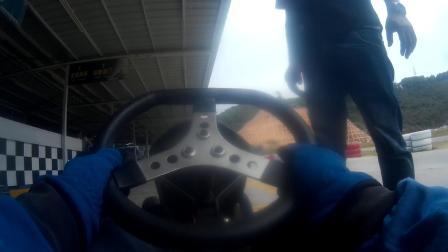 深圳极速赛车场-KT100卡丁车试驾
