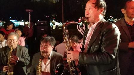 2019和谐仁和广场音乐舞会(零零乐队)4