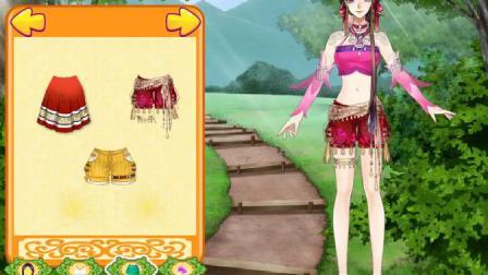 美少女的古风装扮!手绘古风美少女游戏