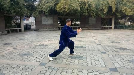 2019年正月初七,演练陈氏56式太极拳