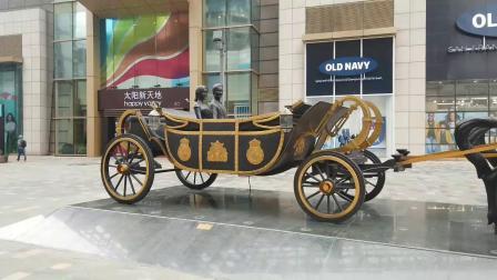 一辆大马车