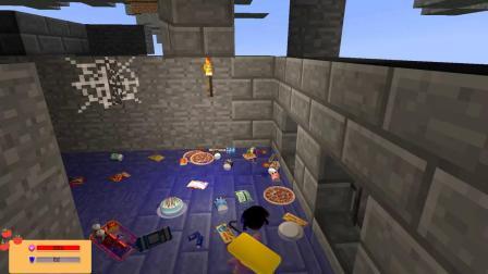GMOD游戏小黑变成杰瑞鼠去下水道偷汤姆猫的零食