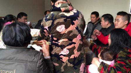 大年三十2019除夕年夜饭 全家团圆现场直播 湖北荆州公安县农村习俗
