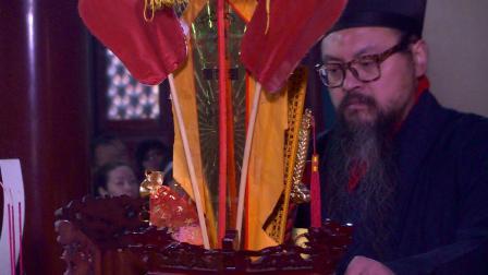 北京白云观己亥年正月初八顺星拜太岁法会