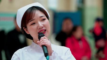 湖北省天门市第一人民医院万人红色快闪燃情唱响《我和我的祖国》