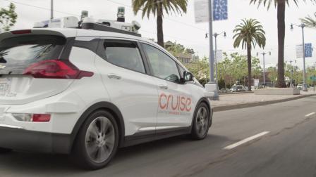 自动驾驶汽车Cruise AV——旧金山路测视频