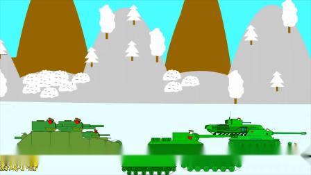 坦克世界搞笑动画:好多鼠爷啊